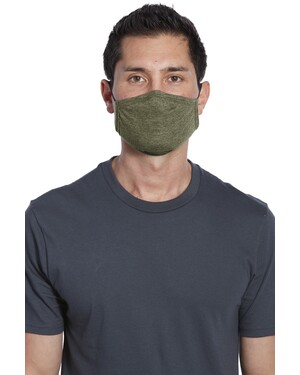 Tri-Blend 2-Ply Reusable Face Mask 5-pack