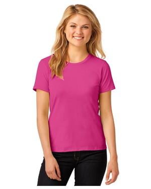 Ladies 100% Ring Spun Cotton T-Shirt.