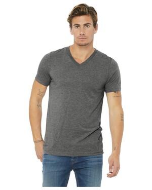 Unisex Triblend Short Sleeve V-Neck T-Shirt