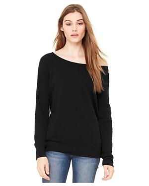 Women's Sponge Fleece Wide-Neck Sweatshirt