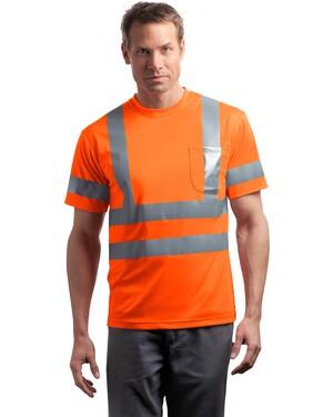ANSI Class 3 Short Sleeve Snag-Resistant Reflective T-Shirt.