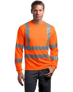 ANSI Class 3 Long Sleeve Snag-Resistant Reflective T-Shirt.