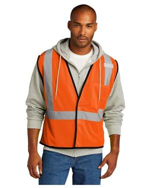 ANSI 107 Class 2 Economy Mesh One-Pocket Vest.