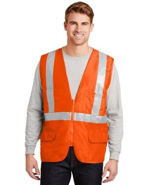 ANSI Class 2 Mesh Back Safety Vest.
