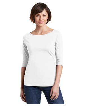 Ladies Perfect Weight  3/4-Sleeve T-Shirt