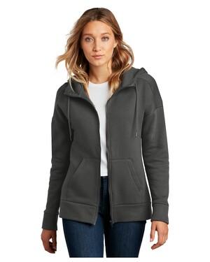 Women's Perfect Weight Fleece Drop Shoulder Full-Zip Hoodie