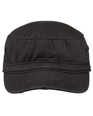 Distressed Military Hat.