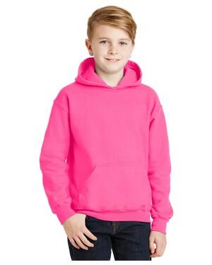 Youth Heavy Blend Hooded Sweatshirt.