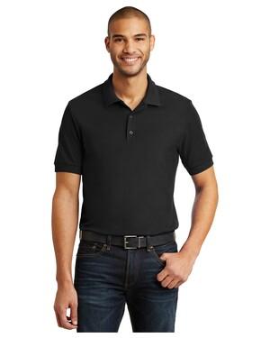 6.5-Ounce 100% Double Pique Cotton Sport Shirt.