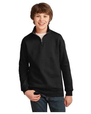 Youth 1/4-Zip Cadet Collar Sweatshirt.