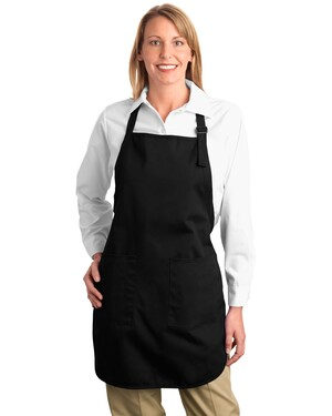 Full Length Apron with Pockets.