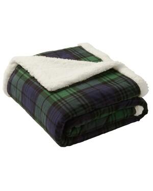 Flannel Sherpa Blanket.