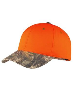 Safety Cap with Camo Brim.