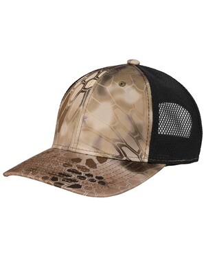Performance Camouflage Mesh Back Snapback Cap
