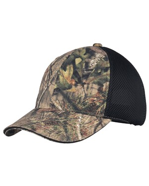 Camouflage Hat with Air Mesh Back.