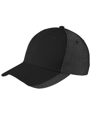 Two-Color Mesh Back Cap.
