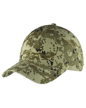 Digital Ripstop Camouflage Cap.