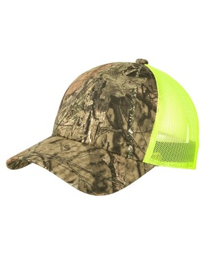 Structured Camouflage Mesh Back Cap.