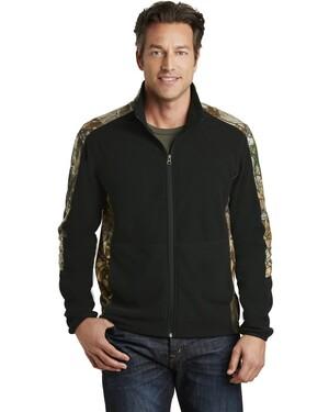 Camouflage Microfleece Full-Zip Jacket
