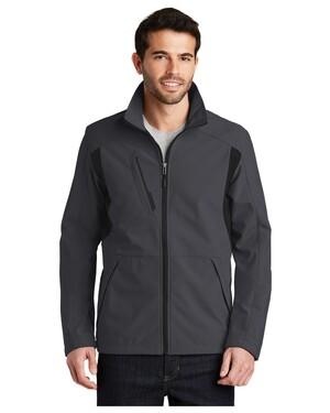 Back-Block Soft Shell Jacket.