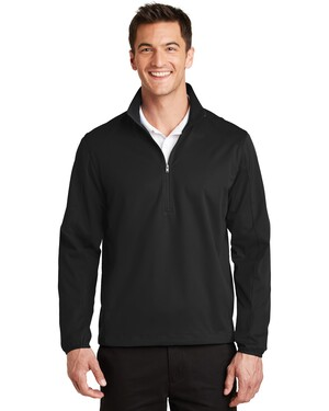 Active 1/2-Zip Soft Shell Pullover