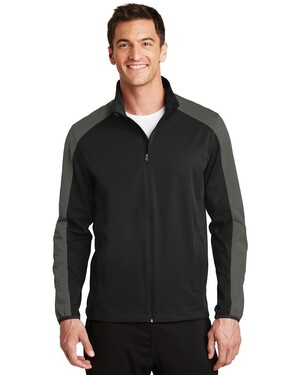 Active Colorblock Soft Shell Jacket.