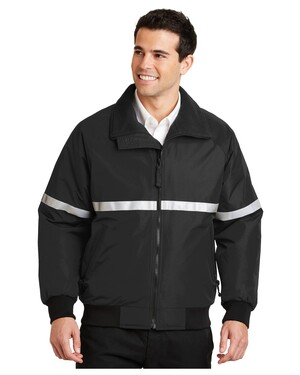 Challenger Jacket with Reflective Taping.