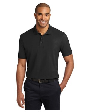 Stain-Resistant Polo Shirt