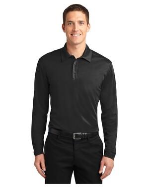 Silk Touch  Performance Long Sleeve Polo Shirt