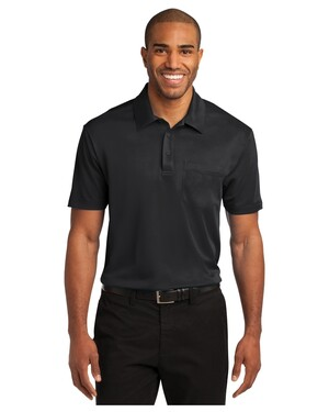 Silk Touch; Performance Pocket Polo Shirt