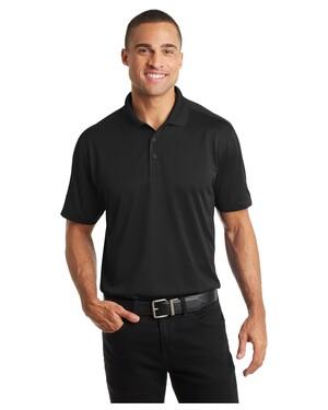 Diamond Jacquard Polo Shirt