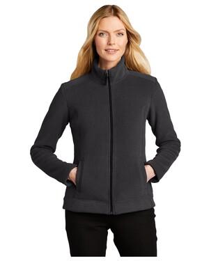 Ladies Ultra Warm Brushed Fleece Jacket.