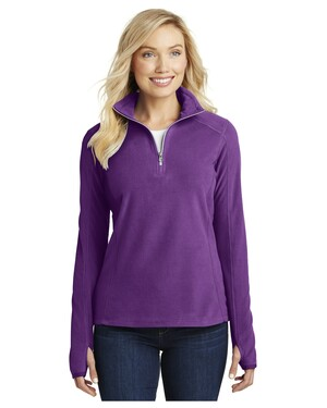 - Ladies Microfleece 1/2-Zip Pullover