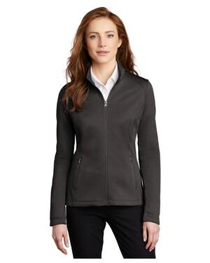 Ladies Diamond Heather Fleece Full-Zip Jacket