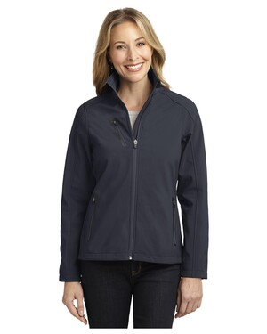 Ladies Welded Soft Shell Jacket.