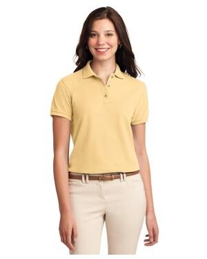 Women's Silk Touch Poly/Cotton Pique Polo Shirt