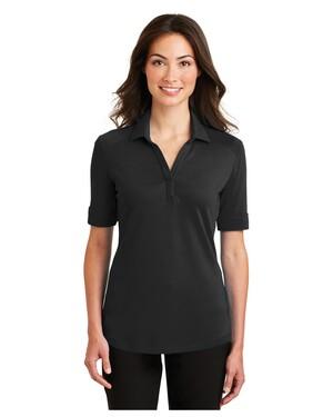 Ladies Silk Touch Interlock Performance Polo Shirt