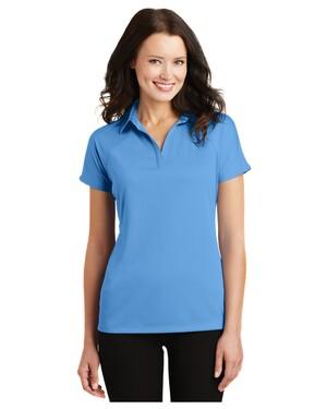 Ladies Crossover Raglan Polo Shirt