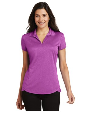 Ladies Trace Heather Polo Shirt