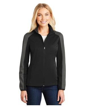 Women's Active Colorblock Soft Shell Jacket
