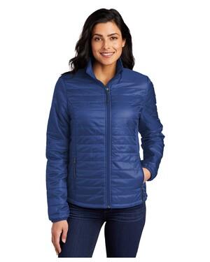 Ladies Packable Puffy Jacket