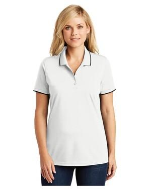 Women's Dry Zone  UV Micro-Mesh Tipped Polo Shirt