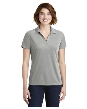 Ladies Poly Oxford Pique Polo Shirt