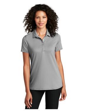 Ladies Gingham Polo Shirt
