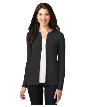 Ladies Concept Stretch Button-Front Cardigan Sweater