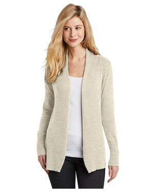 Ladies Open Front Cardigan Sweater