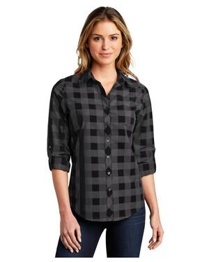 Ladies Everyday Plaid Shirt.