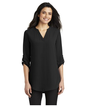 Ladies 3/4-Sleeve Tunic Blouse.