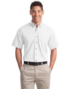 Short Sleeve Twill Shirt.