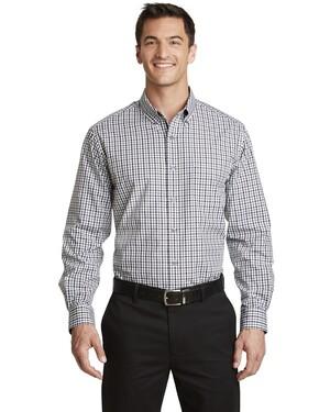 Long Sleeve Gingham Easy Care Shirt